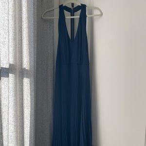 Alice + Olivia - Navy Blue - Size 6 Dress